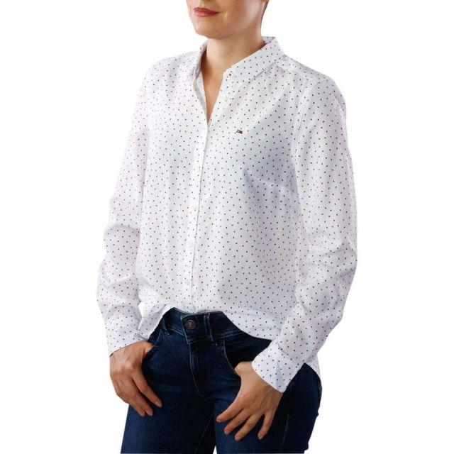 a6d846c6064b Tommy Hilfiger - Thdw Printed Shirt L S 29 - pas cher Achat   Vente ...