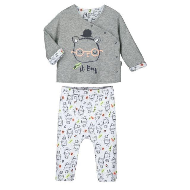 d6b01811c626f Petit Beguin - Pyjama bébé 2 pièces Mini Boy - Taille - 18 mois