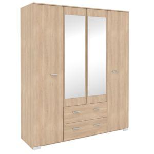 astounding armoire 4 portes ideas simple design home. Black Bedroom Furniture Sets. Home Design Ideas
