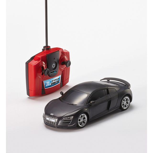 REVELL Audi R8 Audi R8 2 voies 40 MHz, à l'échelle 1/24. Facile d'utilisation idéal pour les plus jeunes. Belles finitions. Carosserie sous licence.