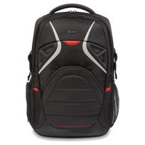 TARGUS - TSB900EU - Sac à dos PC Gaming Strike 17,3'' - Noir/Rouge