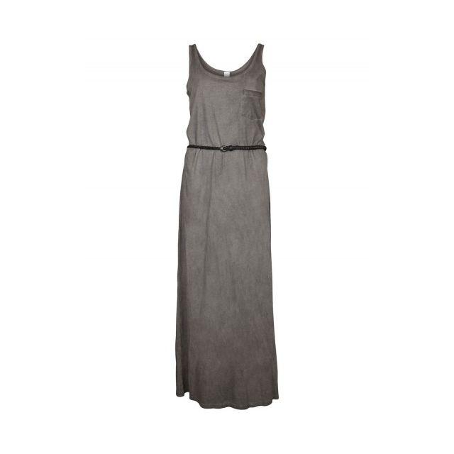 0187d265dbd Vila - Robe longue Ladonna - pas cher Achat   Vente Robes - RueDuCommerce