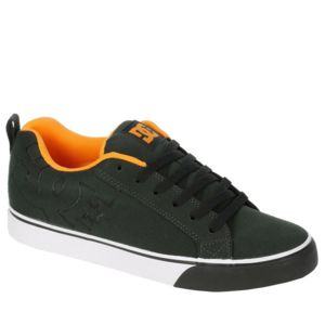 DC Shoes Basket Homme  COURT VULC TX Black Blazing Orange Un grand classi Noir - Chaussures Baskets basses Homme