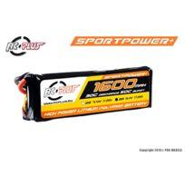RC-Plus - Lipo 1600mah 3S 11,1V - SPORTSLINE 30-50C