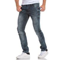 BLZ Jeans - Jean bleu délavé coupe droite