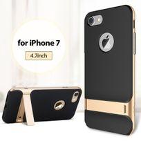 Rock - Coque Royce Series pour iPhone 7 coloris noir et gold