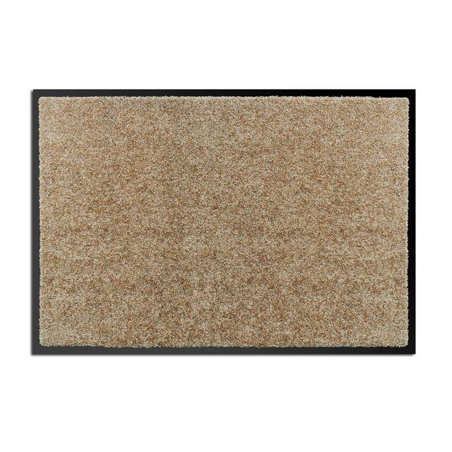 alin a ben tapis d 39 entr e paillasson 40x60cm beige pas cher achat vente sommiers. Black Bedroom Furniture Sets. Home Design Ideas