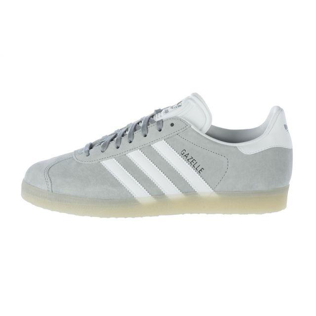 Adidas originals - Basket Gazelle - Ref. Bb5502 Gris - 46 - pas cher Achat / Vente Baskets homme - RueDuCommerce
