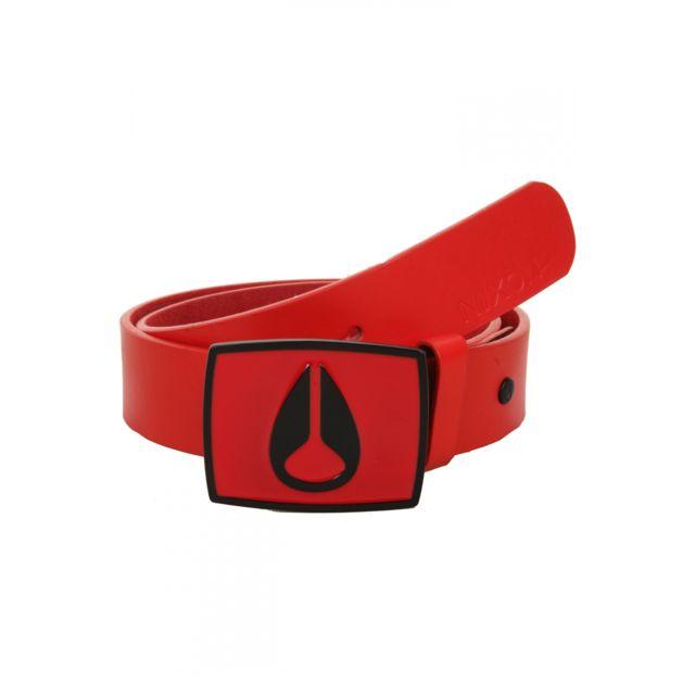 7e50fef14b5 Nixon - Ceinture Enamel Icon Red Pepper Que de style Rouge - pas cher Achat    Vente Ceinture homme - RueDuCommerce