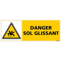 Attention Sol Glissant Dimensions 600x300mm Chevalet de signalisation