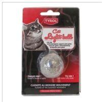 Tyrol - Jouet Balle Lumineuse en Plastique pour Chat