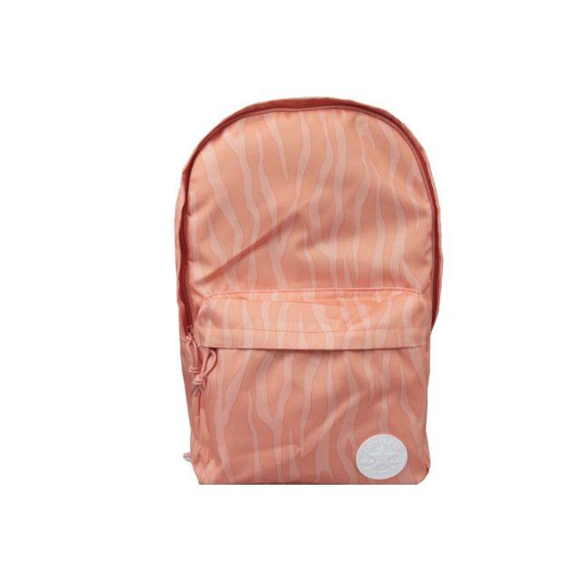 221e5b4e74 Converse - Edc Poly Backpack 10003331-A07 Orange - pas cher Achat / Vente  Cartables, sacs à dos maternelle - RueDuCommerce