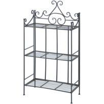 etagere profondeur 50 cm achat etagere profondeur 50 cm pas cher soldes rueducommerce. Black Bedroom Furniture Sets. Home Design Ideas
