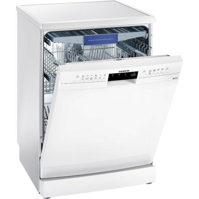 SIEMENS lave-vaisselle 60cm 14c 44db a++ pose libre blanc - sn236w03ne