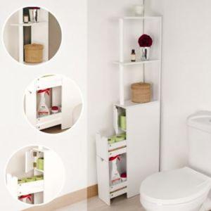 Trend corner meuble de rangement toilettes ou salle de for Ou acheter meuble salle de bain pas cher