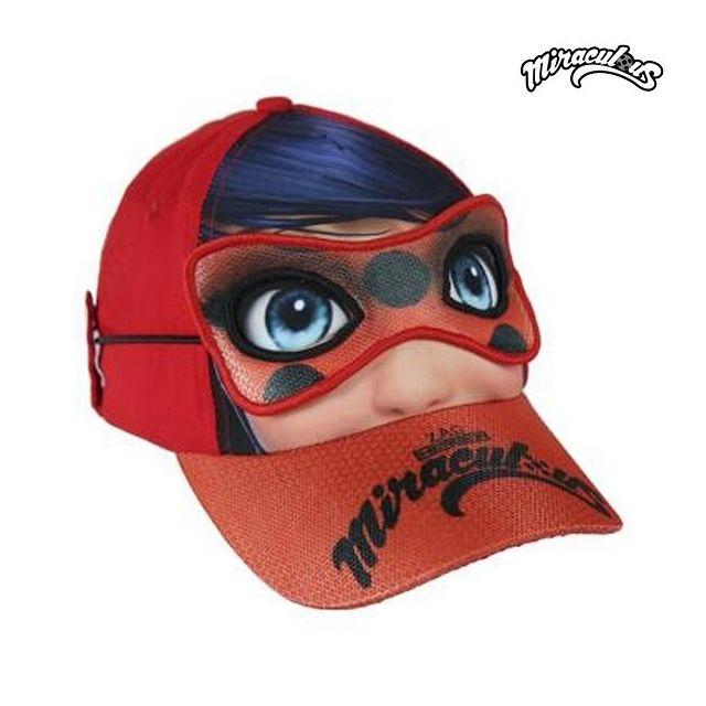 85f75dd548f5 Marque Generique - Casquette pour enfant avec masque Lady Bug en polyester  et coton 53 cm Protection solaire - pas cher Achat   Vente Casquettes enfant  - ...