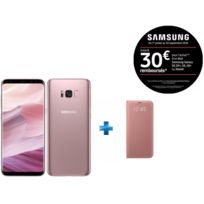 Samsung - Galaxy S8 Plus - Rose + LED View Cover Galaxy S8 Plus - Rose