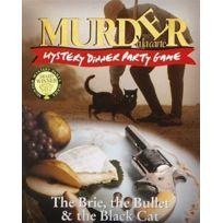 Paul Lamond Games - Murder A La Carte - Mystery Dinner Party Game: The Brie, The Bullet & The Black Cat - Jeu D'ENQUÊTE