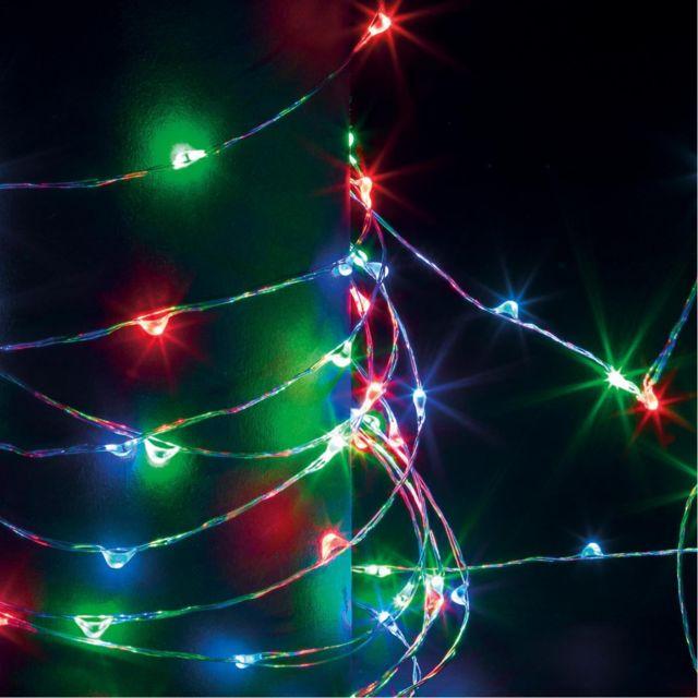21d7aafb03c736 Feeric Christmas - Feeric Christmas - Guirlande lumineuse d extérieure  copper 100 Led à piles