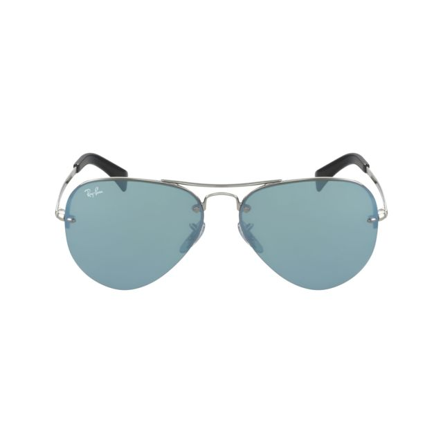 dac0340bf97a4 Ray-Ban - Ray Ban - aviator Rb3449 003 30 Argent - Lunettes de ...