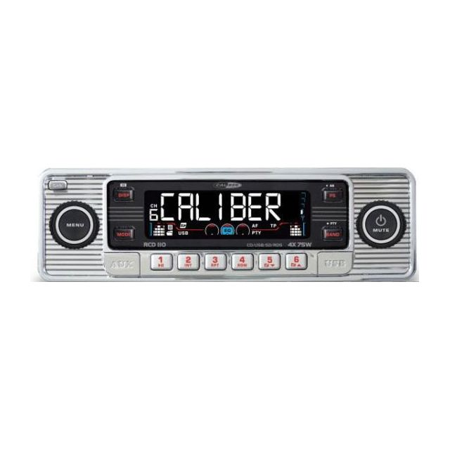 Caliber Autoradio Mp3 Rcd110