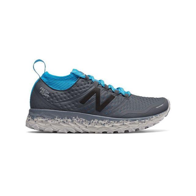 b5468026896 New Balance - Fresh Foam Hierro V3 femme Bleu - pas cher Achat   Vente Chaussures  trail - RueDuCommerce