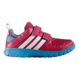 outlet store 5d592 3e233 Adidas - Chaussures adidas Sta Fluid 3 Cf junior K rose bleu enfant