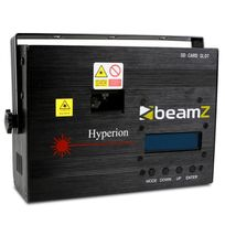 BEAMZ - Hyperion Laser Animation 10 canaux DMX SD