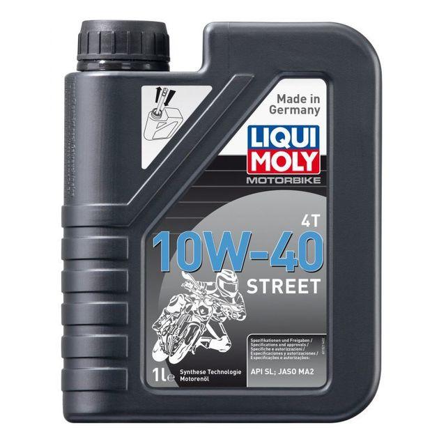Liquimoly - Liqui Moly Motorbike 4T 10 W-40 Street 1 l
