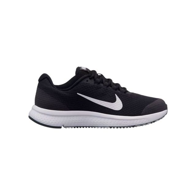 Nike Chaussures RunAllDay noir blanc gris femme pas cher