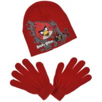Angry Birds - Lot Bonnet + Gants
