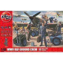 Airfix - Figurines militaires : Equipe au sol de l'aviation Raf Wwii