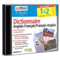 Micro Application - Dictionnaire - Anglais, Français / Français, Anglais