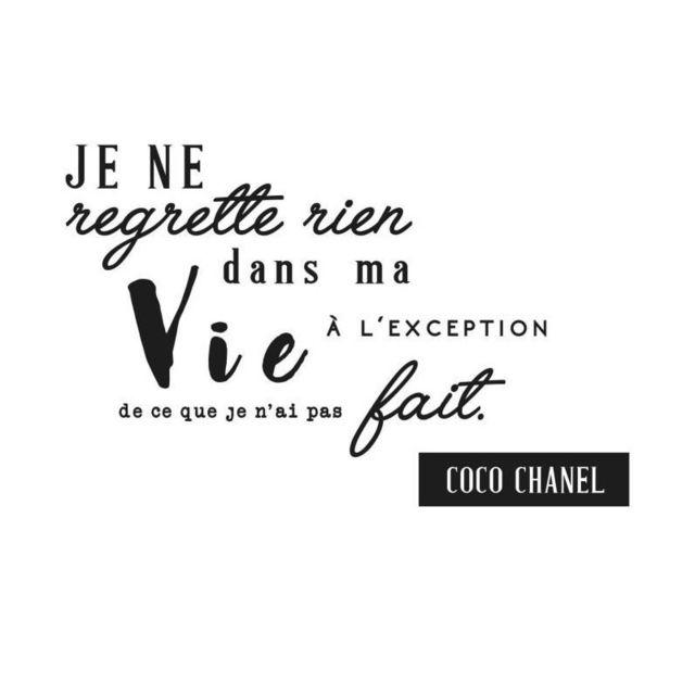 Marque Generique - Wall Impact Sticker adhésif mural Coco Chanel - 62x40cm 5f6597bccab