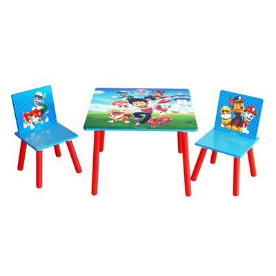Et Paw Table Chaise Kids Licensing Pat Patrol Pat'patrouille CQdhstrx