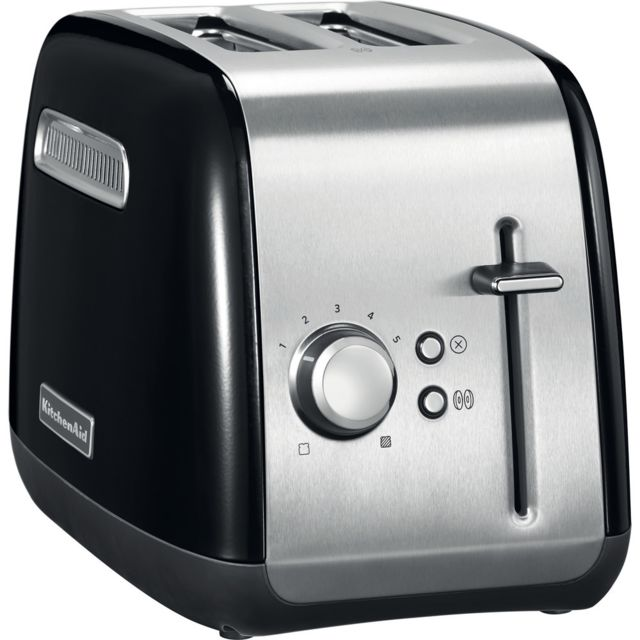 Kitchenaid Grille pain avec 2 fentes 1100W noir onyx argent