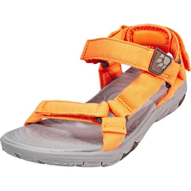 Jack Wolfskin Seven Seas 2 - Sandales - gris/orange