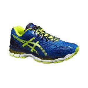 Chaussures Asics Gel-nimbus 17 bleu électrique jaune