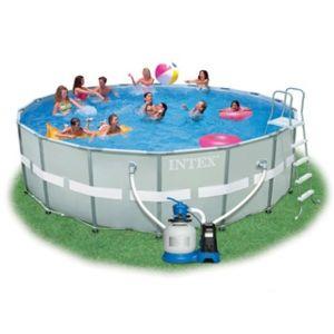 Intex vigipiscine kit piscine hors sol tubulaire ultra for Piscine hors sol ultra frame 549 x 132 cm