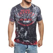 Cipobaxx - Cipo and Baxx - T-shirt Rolling Thunder noir manches courtes