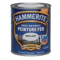 Hammerite - Peinture finition Lisse Brillante 2,5L Blanc - 70751