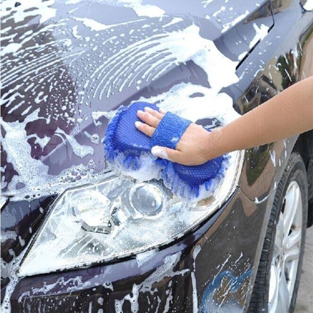 outil de nettoyage couleur al/éatoire Nettoyage de voiture Gants de nettoyage Chenille en microfibre
