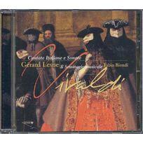 Musidisc - Antonio Vivaldi - Cantate italiane e sonate CD Catalogue