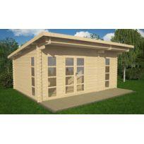 House and Garden - Studio De Jardin Lodge En Bois, 3 PiÈCES 16,50 M2 - Brunelle