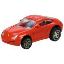 Simm Spielwaren - Darda Porsche 911 50322-PEIGNOIR De Bain-rouge-dimensions : Env. 7,7 Cm