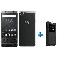 BLACKBERRY - KEYone - Argent + Smart Pocket KEYone - Noir