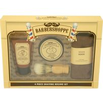 Gloss - Coffret de rasage Barbershoppe - 4 pcs