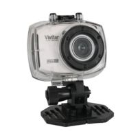 Vivitar - Dvr787HD camera sportive full Hd 1080p 12.1MP Blanc