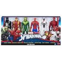 MARVEL - SPIDERMAN - Pack collection 6 figurines 30 cm - H 30 cm - C1923
