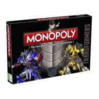 Winning Moves - Transformers - Jeu de plateau Monopoly ANGLAIS